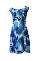 REVIEW Sophiscated Fashionable Silk  Blue Dress For Women