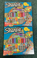 2x 44 ct Sharpie Limited Edition Markers 16 Fine Point 16 Ultra Fine 6 Metallic