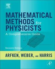 Mathematical Methods For Physicists, 7Th Ed. By Arfken