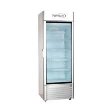 Premium 15 Cuft Single Glass Door Upright Display Cooler Merchandiser Refrigera