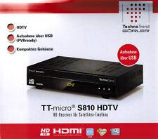 Technotrend TT-micro®  S810 HDTV  HD- Receiver für Satelliten Ampfang !!! NEU!!!