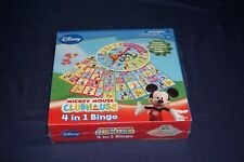 MICKEY MOUSE CLUBHOUSE 4 IN 1 BINGO PLAYHOUSE DISNEY GAME