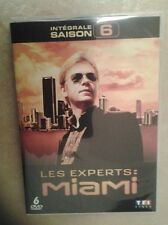 21906//LES EXPERTS MIAMI INTEGRALE SAISON 6  /21 EPISODES NEUF SANS BLISTER