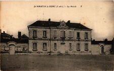 CPA St-Martin-le-Beau - La Mairie (253477)
