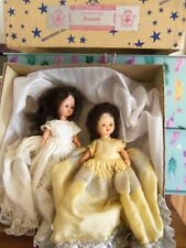 Lot of 2 Hollywood Storybook Dolls & an Original Box 1940's