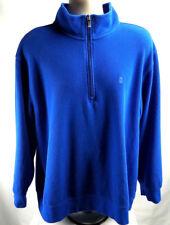 Izod PerformX 1/4Zip Pullover Mens Xl, Royal Blue, Euc