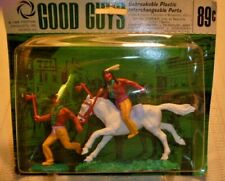 Good Guys Plastic Indians  Horses  Festival Products 1966 Original Package
