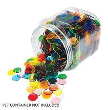 Counters Transparent 22mm 100p 10 Colour Maths Games Teacher Resources Light Box