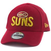 Gold Coast Suns New Era AFL Team 9Forty Hat Genuine Merchandise Cap Gym