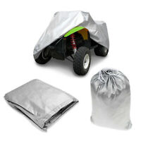 XL 190T Waterproof Quad ATV Cover Universal For Polaris Honda Yamaha
