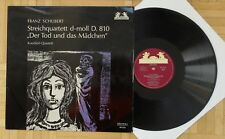 R985 KOECKERT QUARTET SCHUBERT DEATH AND THE MAIDEN HELIODOR STEREO