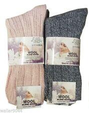 Unbranded Wool Blend Everyday Socks for Women