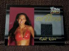 Gail Kim 2003 Fleer WWE Divine Divas Event-Used Clothing Card WWF/WCW/AEW/TNA