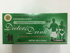 Dieters Herbal  Drink  X-Strength  For Women & Men 18 tea bags