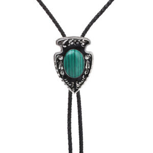 Jade Turquoise Tiger`s eye  BOLO Tie Necklace Wedding Western Native American