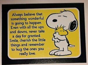 Peanuts ♡ Snoopy ♡ HUGS ♡ Magnet ♡ LITTLE  THINGS ♡