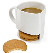 Dunk Mug - Ceramic Cookies Mug Cookie Dunk Mug with Biscuit pocket holder 844