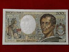 Billet 200 Fr Montesquieu 1982 Fay 70/2 Alph B.010 TTB+ / VF+ !!