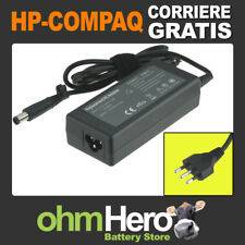 Alimentatore 18,5V 3,5A 65W per HP-Compaq Presario CQ61-412SL