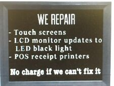 Ibm 4852 Touch Screen Monitors Service Repair & Upgrade To Led Backlight