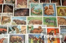 Thematics 250 different Mammals stamps