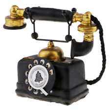 Vintage Antique Rotary Dial Telephone Corded Retro Phone Home Decoration 7111-14