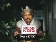 BURGER KING SNEAK KING CREEPY STALKER XBOX 360 GAME CULT CLASSIC NEW SEALED