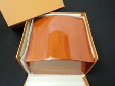 EBEL unused dead stock wrist watch box case wood wooden mzyy