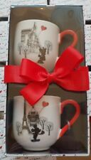 Tasses à Café / Coffee Cups X2 PARIS MON AMOUR / My Love Disneyland Paris