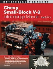 Chevy Small-Block V-8 Interchange Manual, 2nd Ed.~covers 1968-2000 models~NEW!