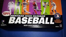 2015 Topps Heritage High Number Set 501-725 Kris Bryant Correa Lindor RCs