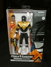 "Power Rangers Lightning Collection 6"" Dragon Shield Black Ranger Action Figure!"