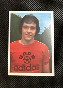 AGEDUCATIFS MICHEL PLATINI #289 ROOKIE CARD FOOTBALL 74/75 1974 1975 AGE PANINI