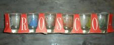 VINTAGE ROSCO SHOT GLASSES SAILING THEME BOXED *Free Postage Available NOW