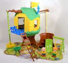 Caillou Leo Treehouse Clubhouse Fort Tree House Playset Action Figure PBS Kids