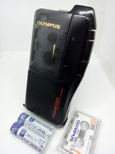 Olympus S912 MicroCassette Pearlcorder Voice Recorder Dictaphone Dictation Black