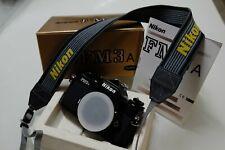 Nikon FM3a Black + Nikkor 35-135 Macro