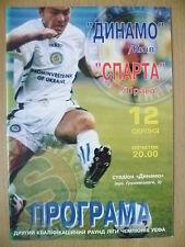 1998/99 FC DINAMO MINSK v AC SPARTA PRAHA