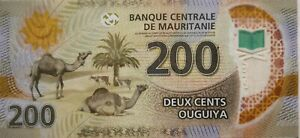 Mauritania 2017 200 Ouguiya Polymer Note C 4241488 AB