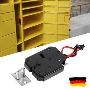 12V Elektrisches Schrankschloss Türschloss Schrankschloss Schublade Sicherheit