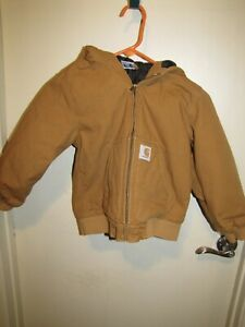 Boys Size Small 7-8 Carhartt Jacket