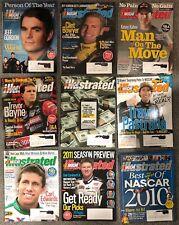 2011 NASCAR Illustrated - Lot of 9 Magazines