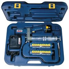 12 Volt DC Cordless PowerLuber Grease Gun with Case and Charger LIN1242 New!