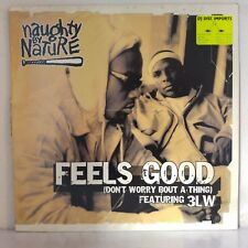 """Naughty By Nature Featuring 3LW – Feels Good (Vinyl, 12"""", Maxi 33 Tours)"""