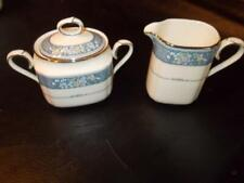 NORITAKE RANDOLPH PATTERN #9721 CREAMER AND COVERED SUGAR BOWL
