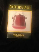 RICETTARIO CARLI - FRATELLI CARLI