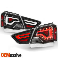For 2014-2020 Chevy Impala LED Tube Black Tail Lights w/ Signal Lamps LH+RH Pair