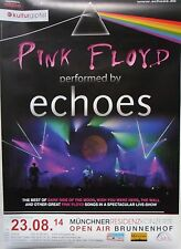 ECHOES (PINK FLOYD Tribute) Tour Poster München 23.08.2014
