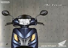 2013 HONDA ACTIVA 125 BROCHURE PROSPEKT CATALOG INDIA