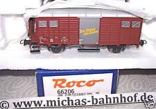 SBB Gms Pour Marchandises Train wagon de couvert Roco 66206 1:87 HB3 µ